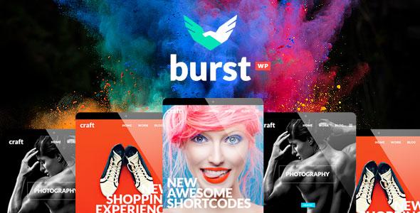 Burst 创意多用途WordPress主题