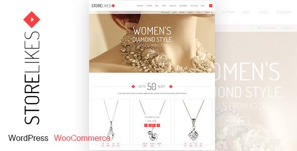 Storelikes – 响应式电商WordPress主题