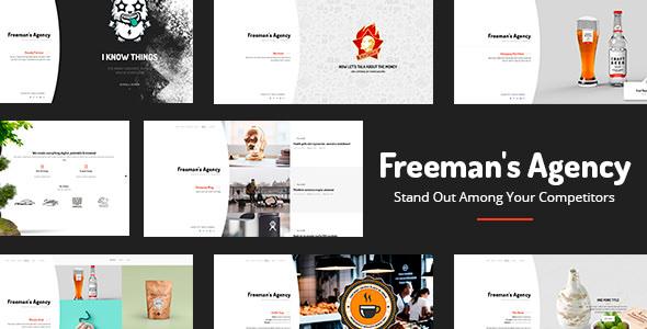 Freeman – 创意机构WordPress主题