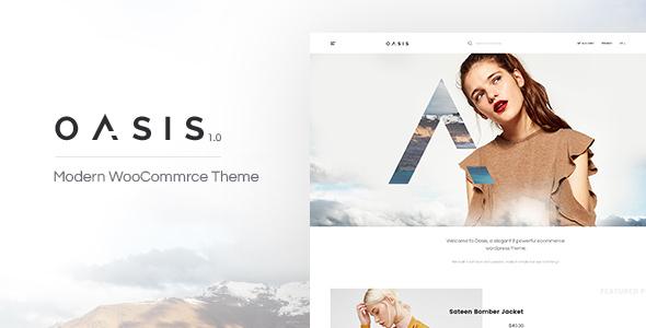Oasis – 现代在线电商网站WordPress汉化主题