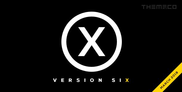 X – 多用途企业网站模板WordPress主题