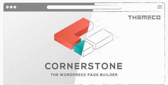 Cornerstone – 多用途可视化编辑WordPress主题