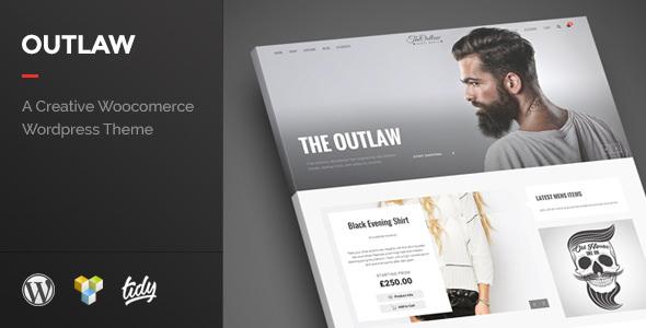 Outlaw – 时尚电商在线网店WordPress主题