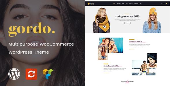 Gordo – 时尚服饰网站WooCommerce电商主题