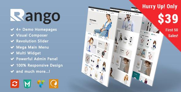 Rango – 时尚服饰响应式模板WooCommerce主题