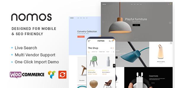 Nomos – 高端专业电商WordPress主题