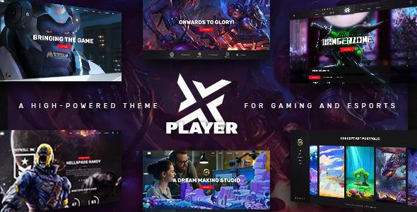 PlayerX – 高达游戏竞技网站WordPres主题