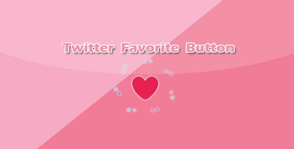 Twitter点赞红心按钮CSS3动画特效