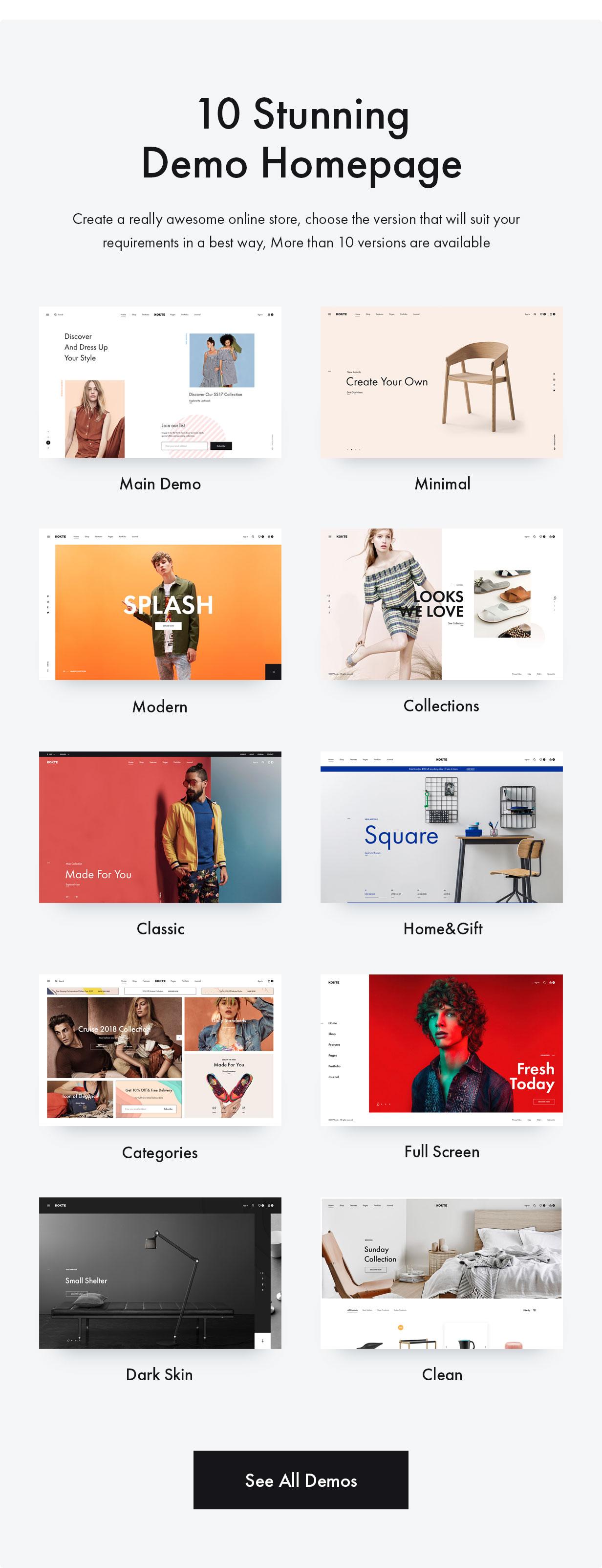 Konte - 轻型简约WooCommerce汉化电商主题-云模板