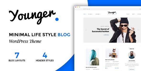 Younger Blogger – 专业个人博客WordPress主题