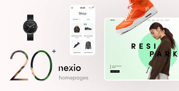 Nexio - 时尚服饰商店网站WooCommerce模板